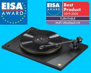 Best Turntable 2020.Mofi Ultradeck M Is Eisa S Best Turntable 2019 2020 Karma Av